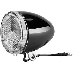 Axa 606 E6-48V Dynamo forlygte LED E-25, sort